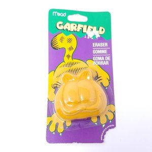 "Mead PAWS Garfield Cat Face 2.5"" School Eraser"